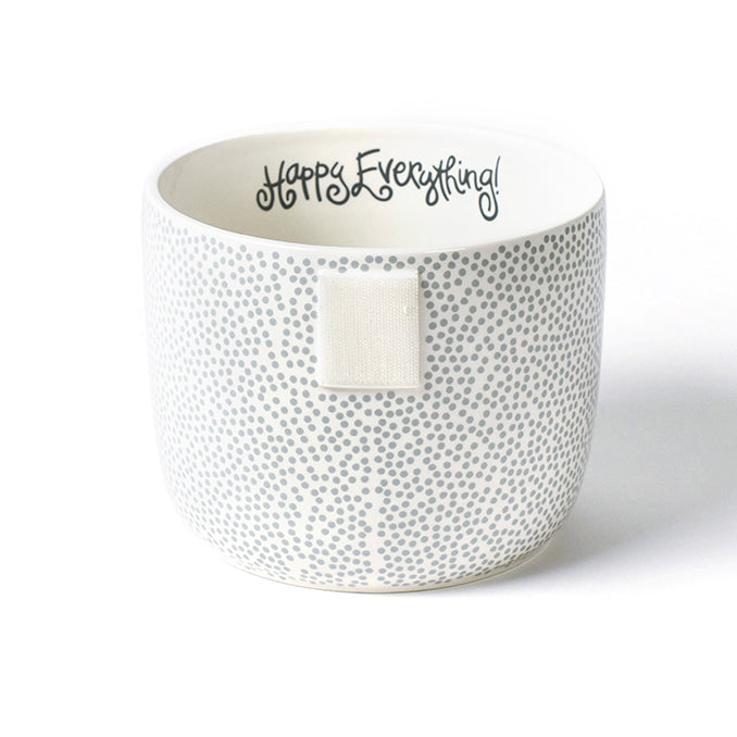 Happy Everything Small Stone Dot Bowl