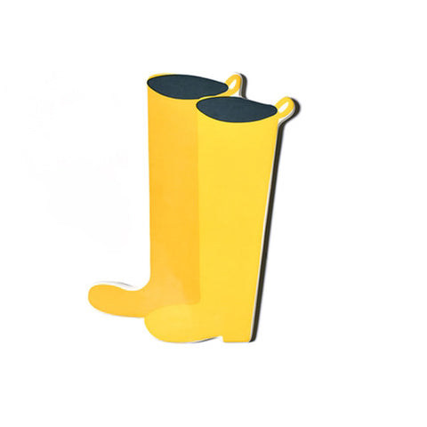 Happy Everything Yellow Wellies Mini Attachment