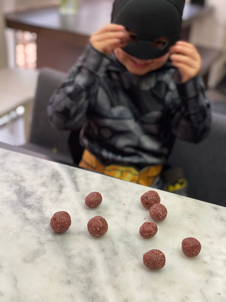 Beetroot and Cacao Bliss Balls