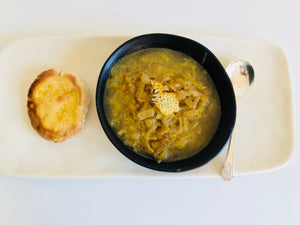 French Onion Soup with  Bone Broth - Recipe