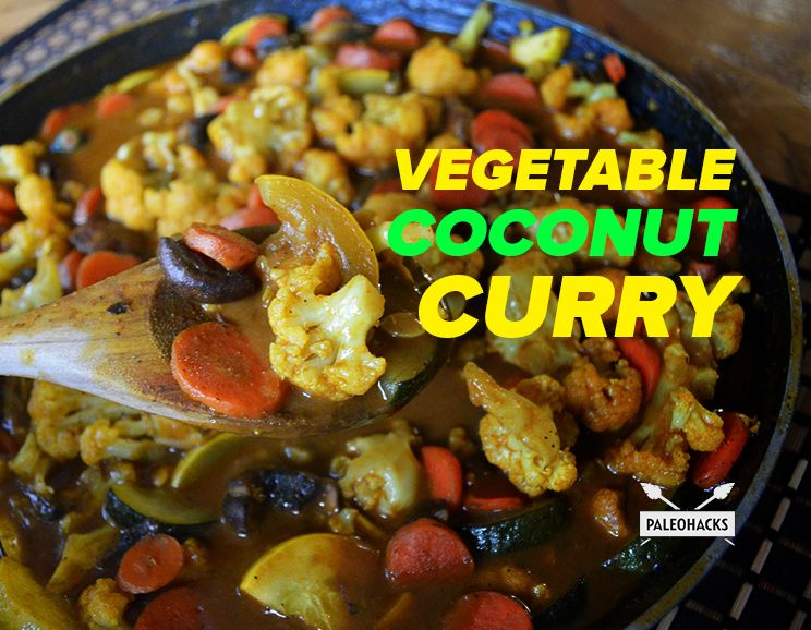 A Vegetable Coconut Curry Recipe you can Improvise...