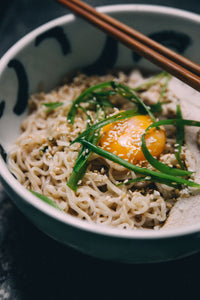 Ramen Noodles with Chicken and Sesame