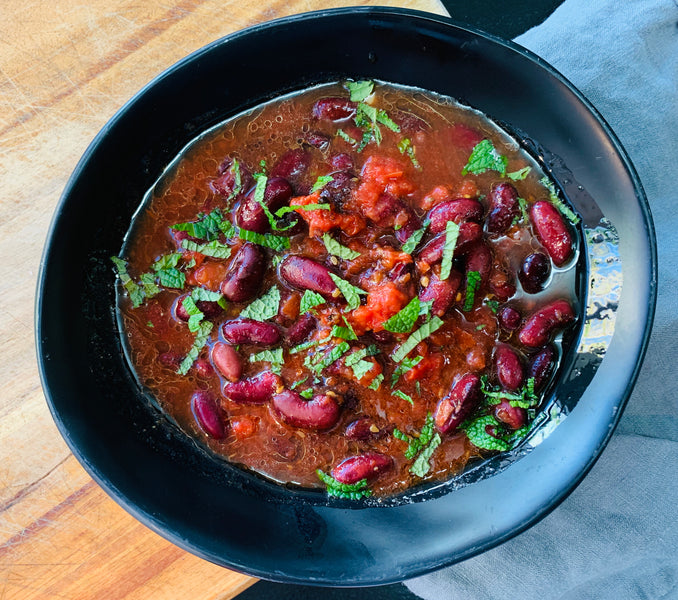 Mexican Kidney Bean Stew