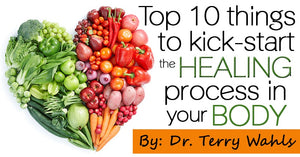 Top 10 Things to Kick-Start the Healing Process in your Body by Terry Wahls