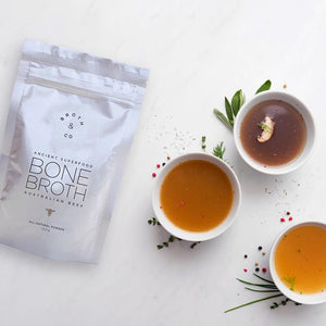"""Naked"" Beef Bone Broth Powder - Buy Online 
