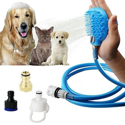 Chuveiro Pet com Massageador + BRINDE EXCLUSIVO!