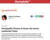 STARTUPITALIA · UNSTOPPABLE WOMEN