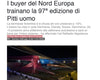 MF FASHION · I BUYER DEL NORD EUROPA TRAINANO LA 97° EDIZIONE DI PITTI UOMO