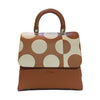 File bag Cognac Polka Dot Big