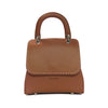 File bag Cognac Saddlery Medium