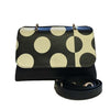 File bag Blue Polka Dot Clutch