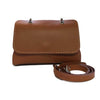 File bag Cognac Saddlery Clutch