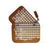 COVER PIED DE POULE COGNAC MEDIUM