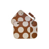 COVER POLKA DOT COGNAC MEDIUM