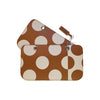 COVER POLKA DOT COGNAC SMALL
