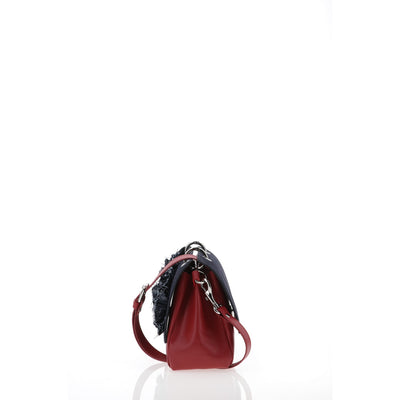 File Bag Denim Red Small