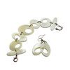 RE-CIRCLE movable bracelet and earrings
