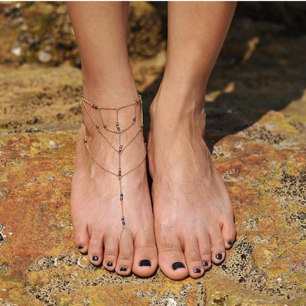 Lexia Barefoot Sandal Anklet
