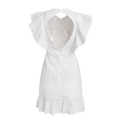 Lottie Embroidery Cotton Dress