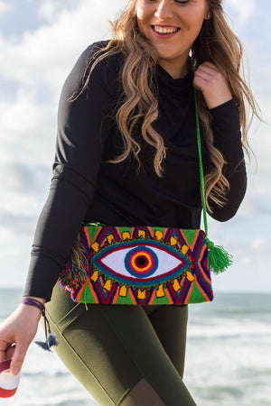 Wayuu Clutch | Eye See You