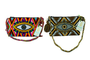 Eye See You Wayuu Clutch - Sold Out!