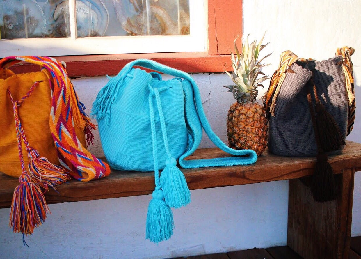 Wayuu Mochila Bag Ocean Child