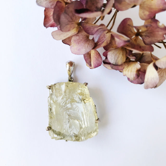 Pendentif Hiddenite - 1