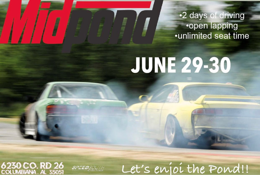 TWO DAY DRIVER - June 29th and 30th *** 20% Discount through 6/26