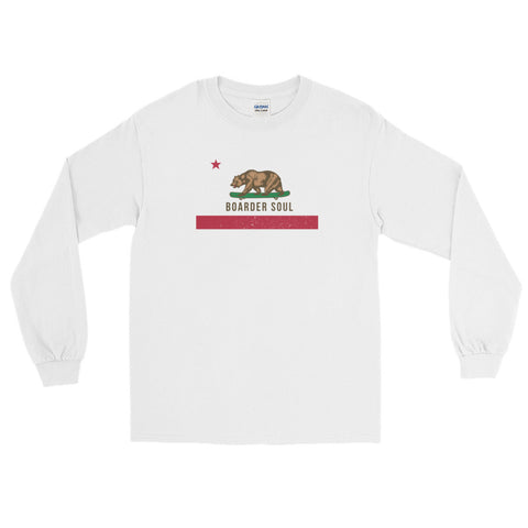 California Boarder Soul Long Sleeve T-Shirt