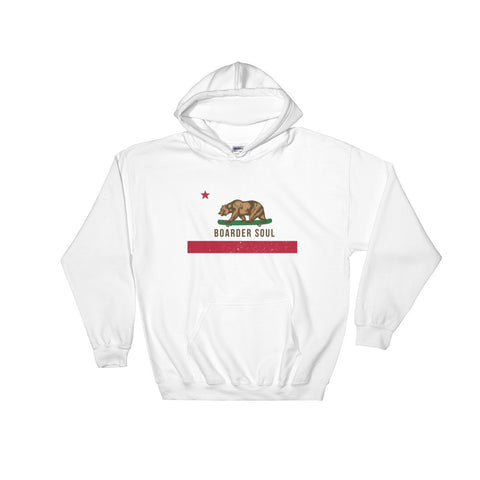 California Boarder Soul Hooded Sweatshirt