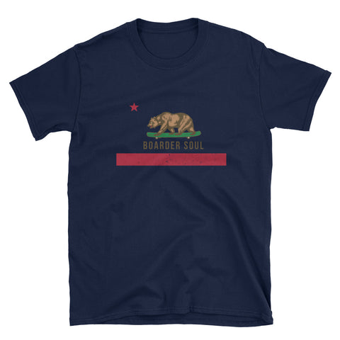California Boarder Soul Short-Sleeve  T-Shirt