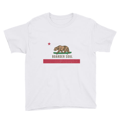 California Boarder Soul Youth Short Sleeve T-Shirt