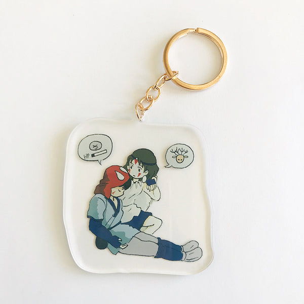 I'LL HELP YOU acrylic charm