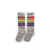 High Rainbow Kids Socks