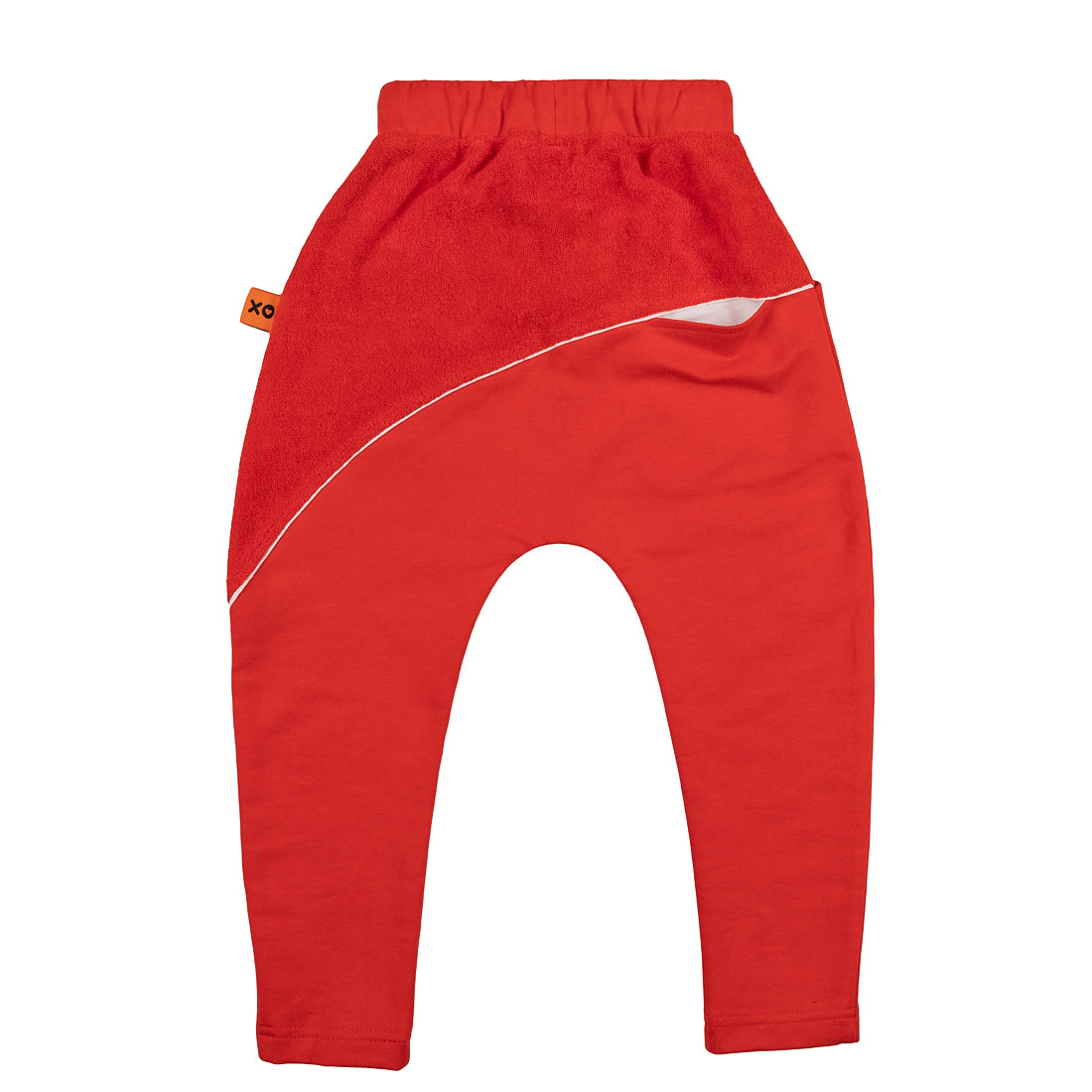 Red or Black Organic Kids Joggers