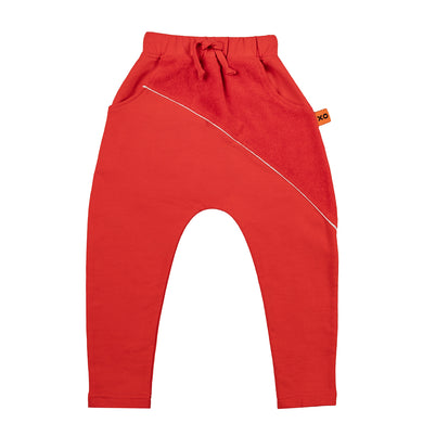 Kids Baggy Joggers - Red or Black
