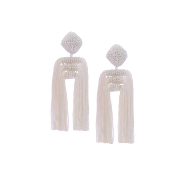 La Jolla Tassel Earrings - The Boho Sophisticate