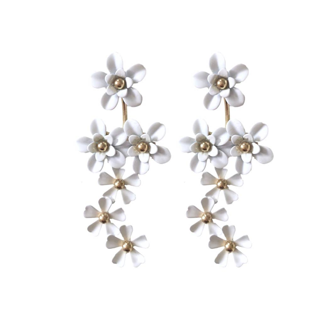 Daisy Drop Earrings - The Boho Sophisticate