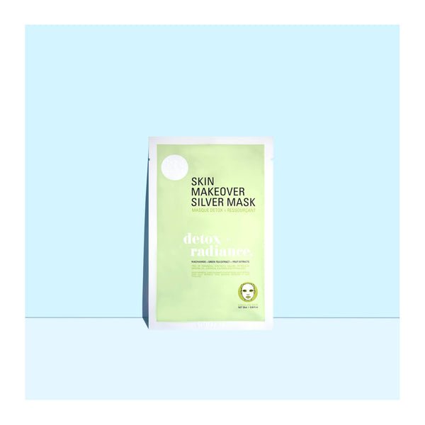 Detox and Radiance Skin Makeover Sheet Mask Set - The Boho Sophisticate