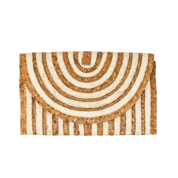 Claire Clutch - Natural - The Boho Sophisticate