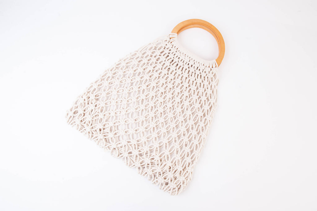 Cabo Cream Crochet Purse - The Boho Sophisticate