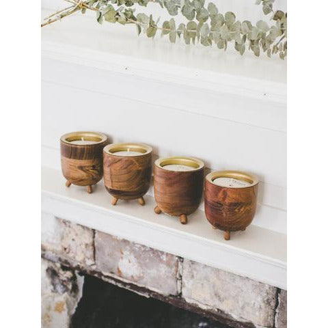 Rewined Champage Barrel Aged Candle - The Boho Sophisticate