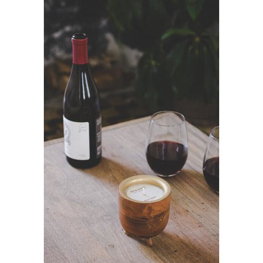Rewined Pinot Noir Barrel Aged Candle