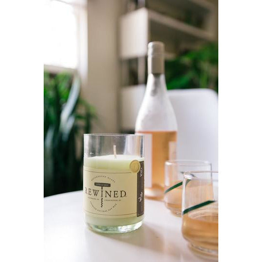 Rewined Candles (Recycled Glass - Multiple Varietals) - The Boho Sophisticate