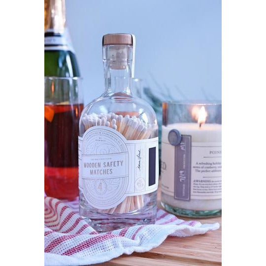 "Rewined 4"" Matchsticks Bottle - The Boho Sophisticate"