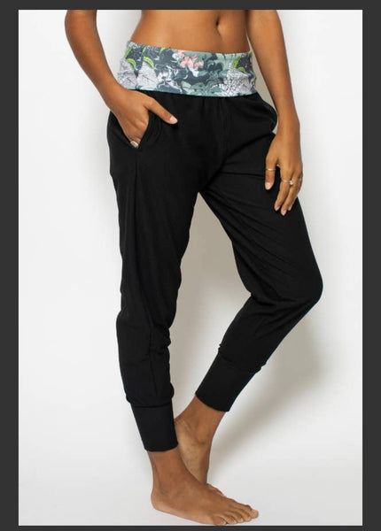 Night Paradise Joggers - The Boho Sophisticate