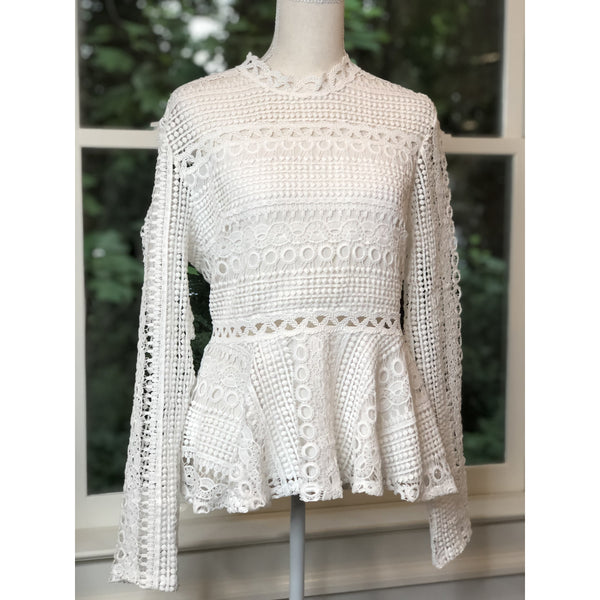 Crochet Peplum Top