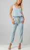 Anna Super Soft Washed Chambray Jumpsuit - The Boho Sophisticate