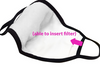 Adult Reusable Face Mask with Filter Insert Opening - 100% Cotton - The Boho Sophisticate