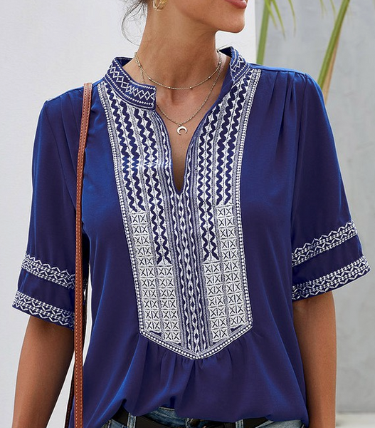 Boho Beach Tunic Top (S - XL) - The Boho Sophisticate